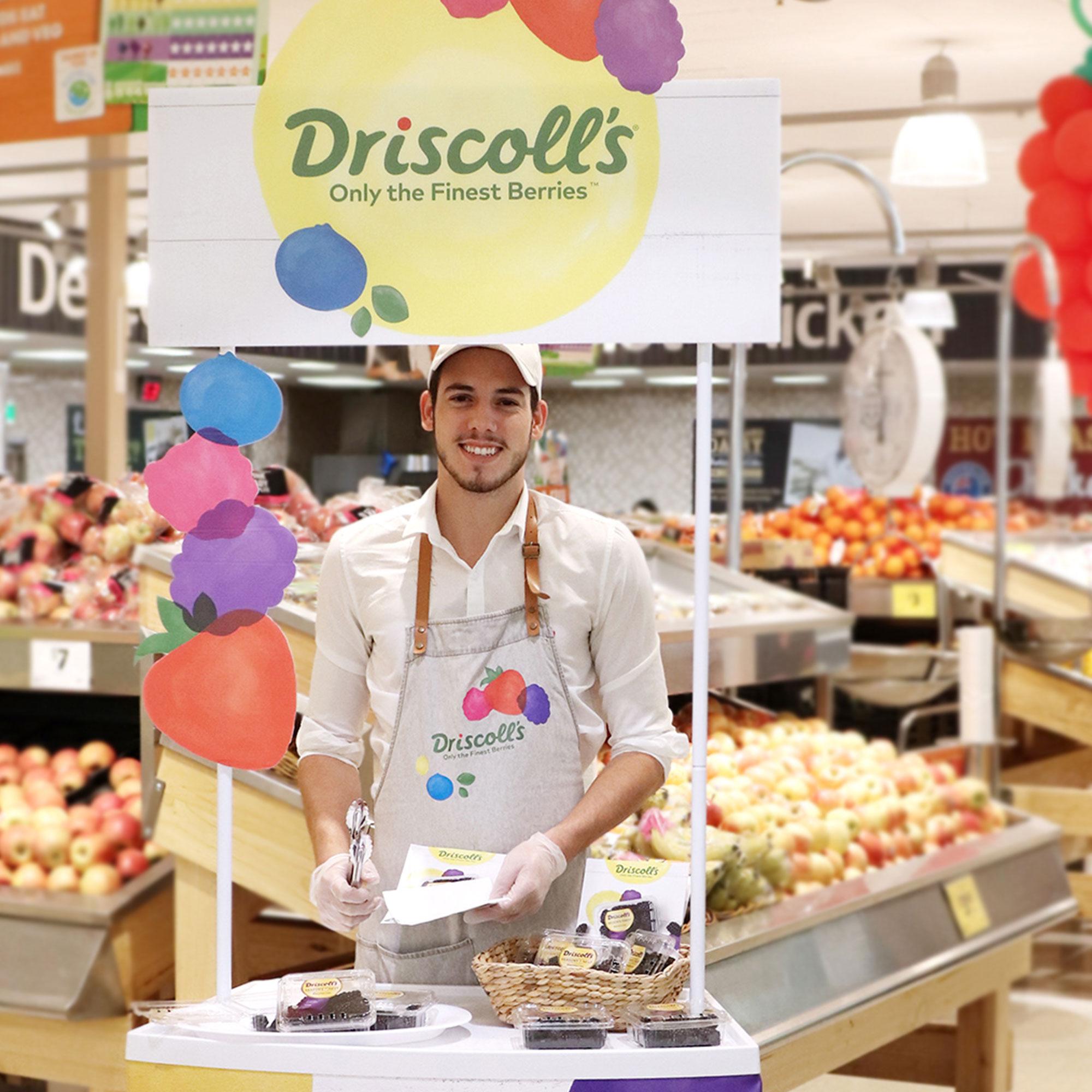 Driscoll's 'Seasons Finest Berries'